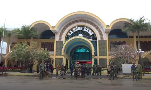 Thắt chặt an ninh tại ga Đồng Đăng