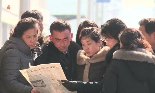 Người dân Triều Tiên tự hào về chuyến thăm Việt Nam của ông Kim Jong-un