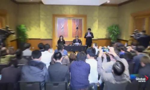 Triều Tiên đang tổ chức họp báo