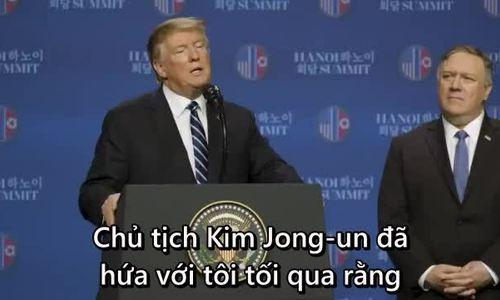 Trump tin Kim Jong-un không tiếp tục thử hạt nhân và tên lửa