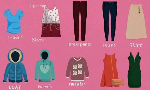 Tên gọi tiếng Anh của các loại trang phục dành cho phụ nữ