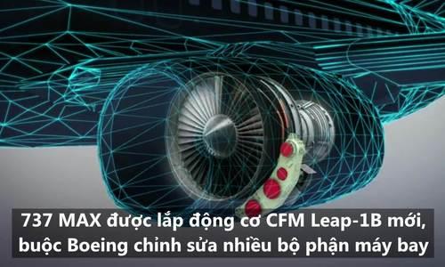 Những vấn đề phát sinh trong thiết kế Boeing 737 MAX 8