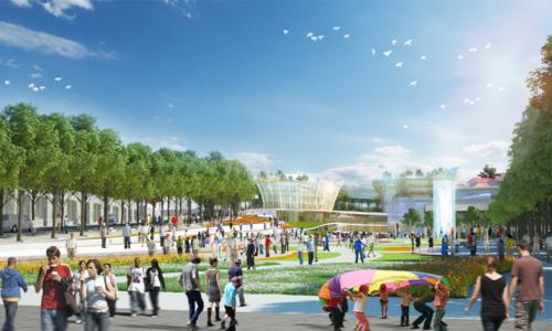 UBND tỉnh Lâm Đồng công bố Quy hoạchKhu trung tâm Hòa Bình, TP Đà Lạt.