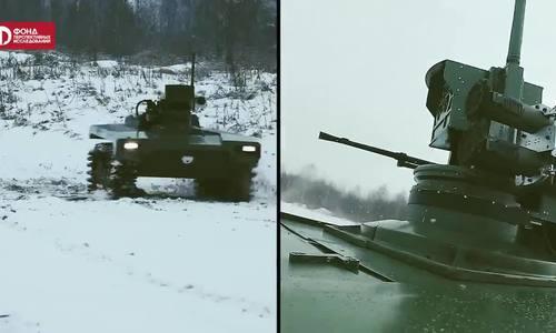 Nga lên kế hoạch thành lập 'binh đoàn' robot chiến đấu