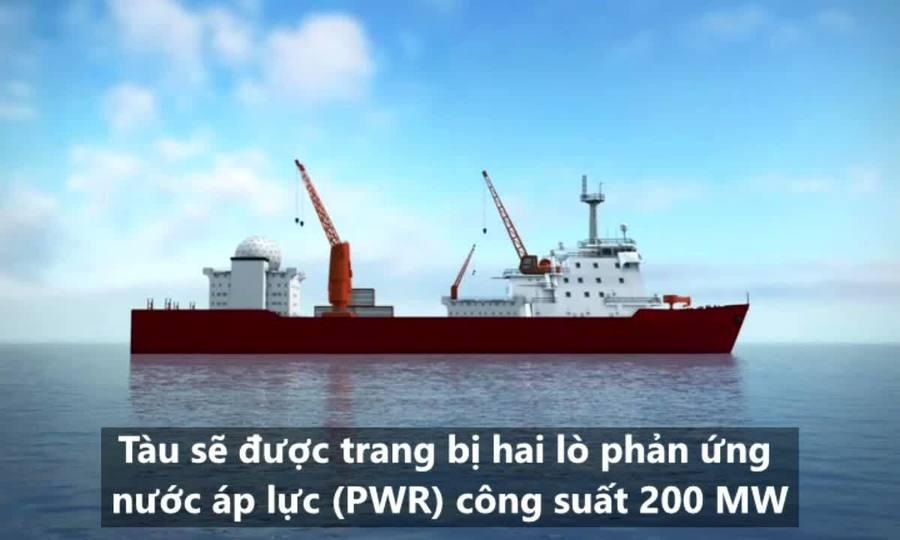 Mẫu tàu phá băng giúp Trung Quốc phát triển tàu sân bay hạt nhân