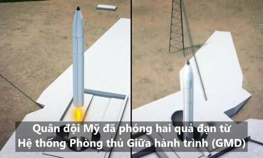 Cuộc thử nghiệm tên lửa giúp Mỹ đối phó ICBM Triều Tiên