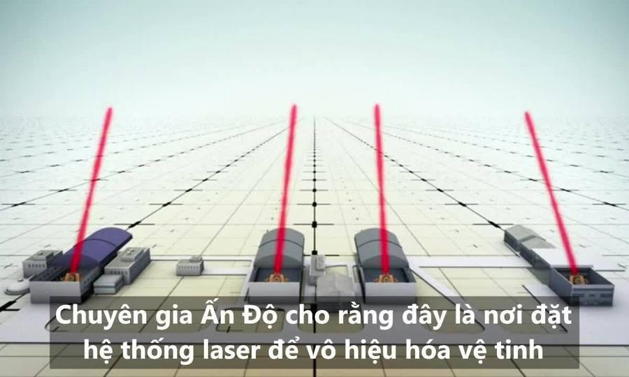 Dàn khí tài xuất hiện tại căn cứ diệt vệ tinh của Trung Quốc