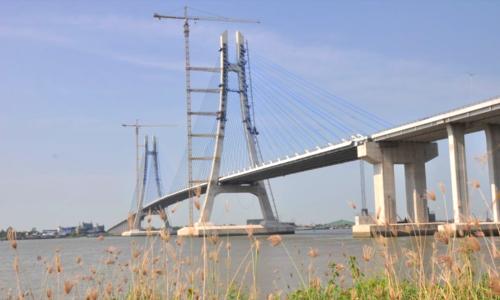 Cầu Vàm Cống sẽ được thông xe vào cuối tháng 5
