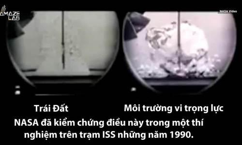 Điều gì xảy ra khi đun sôi nước trên trạm vũ trụ?