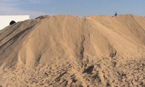 Các loại cát dùng trong xây dựng