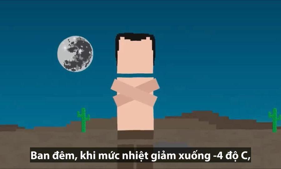 Con người sống sót được bao lâu nếu mắc kẹt trên sa mạc