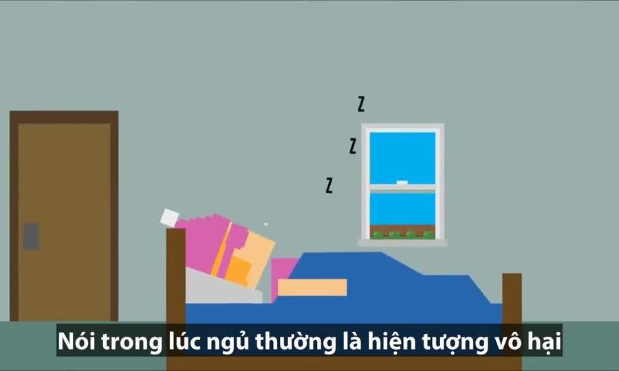 Nguyên nhân con người nói trong khi ngủ