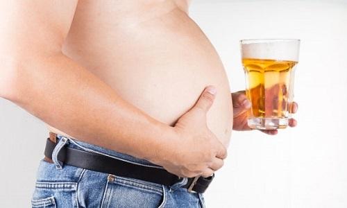 Thủ phạm khiến đàn ông có 'bụng bia'