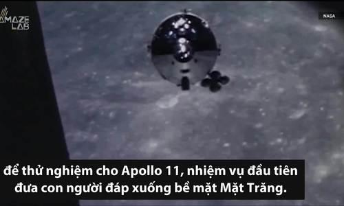 Khoang tàu vũ trụ của NASA trôi nổi 50 năm ngoài không gian