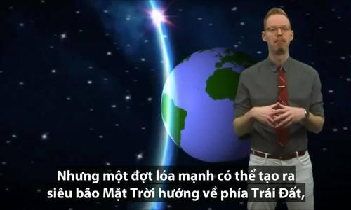 Chuyện gì xảy ra nếu lóa Mặt Trời chạm tới Trái Đất?