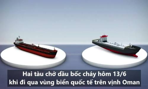 Vụ tấn công tàu dầu khiến Mỹ dọa dùng biện pháp quân sự với Iran