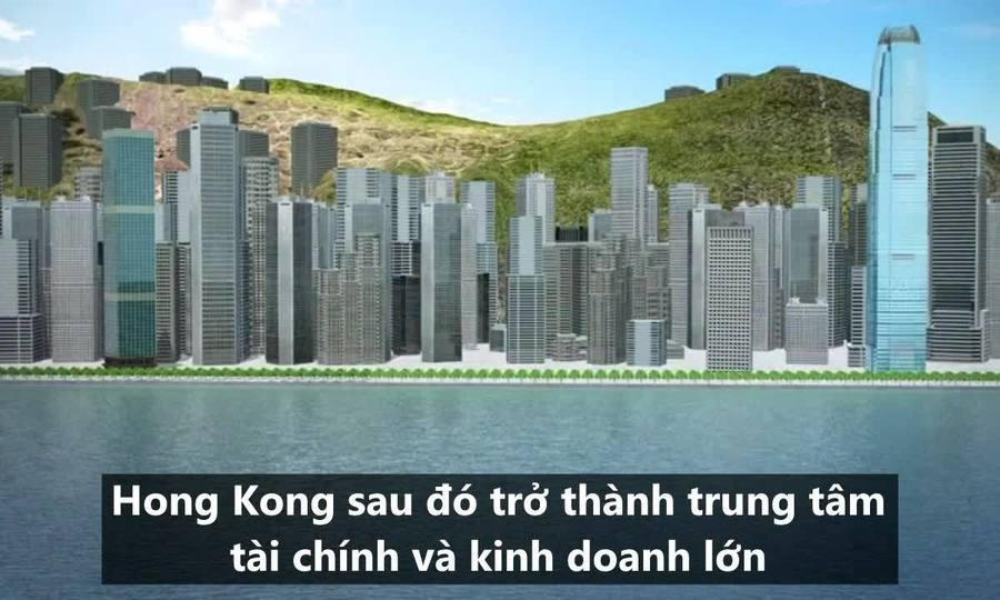 Quá trình Hong Kong được trao trả về Trung Quốc