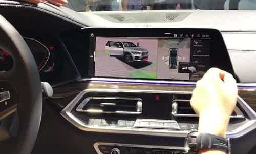 Điều khiển chức năng bằng cử chỉ và cảm ứng trên BMW X5