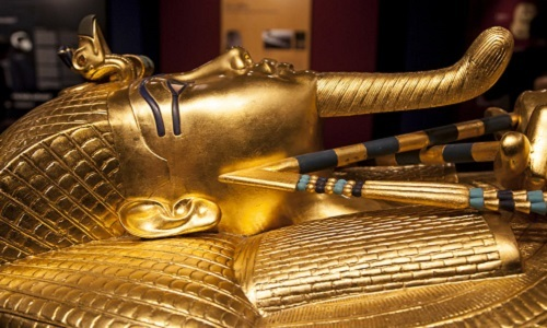 Kho báu của pharaoh Tutankhamun