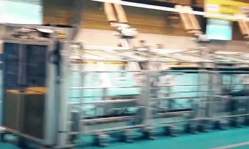 Robot chắn bóng chuyền ở Nhật Bản