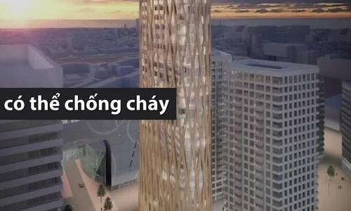 Nhà chọc trời bằng gỗ - giải pháp xây dựng cho tương lai