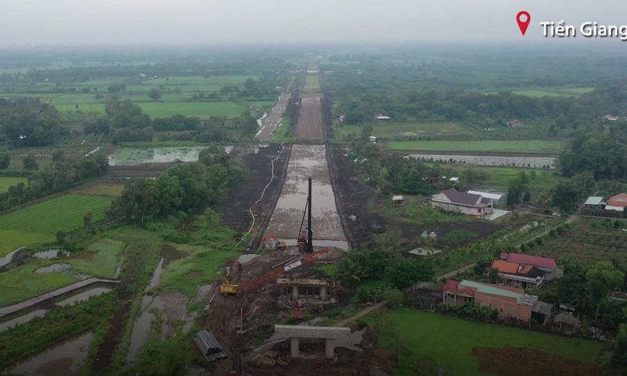 Dân miền Tây 10 năm chờ cao tốc Trung Lương – Mỹ Thuận hoàn thành