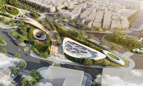Công viên 23 tháng 9 thiết kế tận dụng năng lượng tự nhiên - ảnh 1