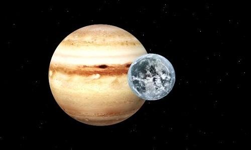 Sao Mộc có thể từng nuốt chửng hành tinh lớn hơn Trái Đất