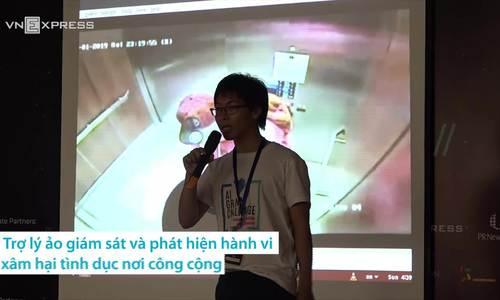 Sinh viên dùng trí tuệ nhân tạo cảnh báo quấy rối nơi công cộng