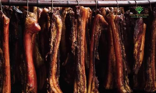 Quy trình sản xuất thịt lợn hun khói