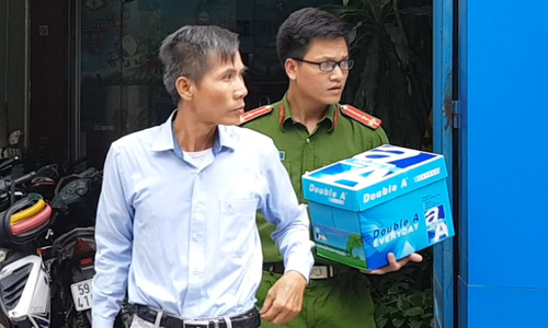 Bắt nhiều người liên quan đến ông Lê Tấn Hùng