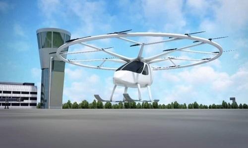 Taxi bay thử nghiệm thành công ở sân bay quốc tế
