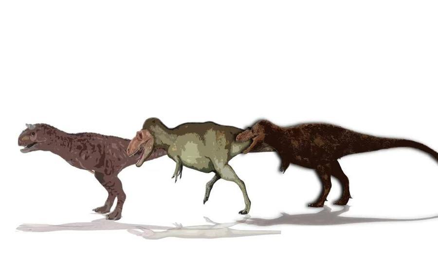 So sánh kích thước những loài khủng long chân thú lớn nhất