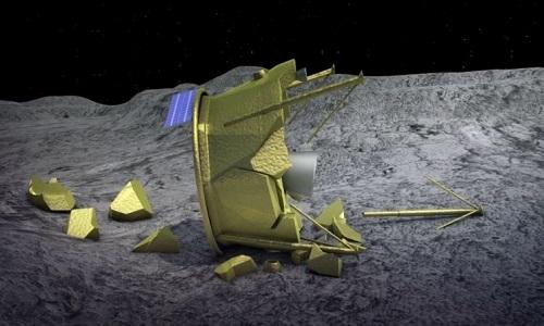 Tại sao tàu thăm dò khó hạ cánh xuống Mặt Trăng?