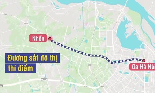 Dự án giao thông trọng điểm Hà Nội
