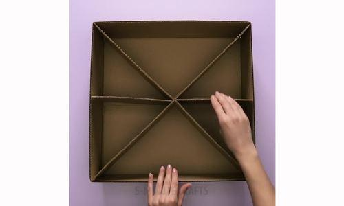 Tái chế hộp carton thành vật dụng trong nhà - ảnh 1
