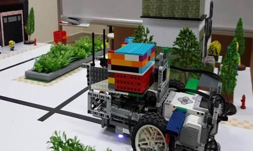 Học sinh THCS chế tạo hệ thống quản lý rác thông minh - ảnh 2
