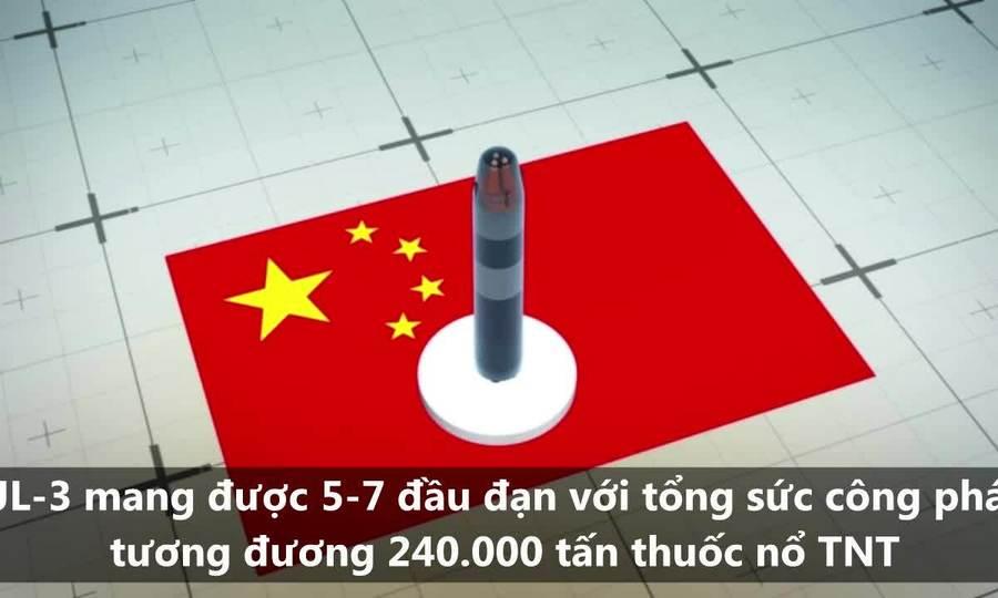 Tên lửa giúp tàu ngầm Trung Quốc đe dọa đất Mỹ