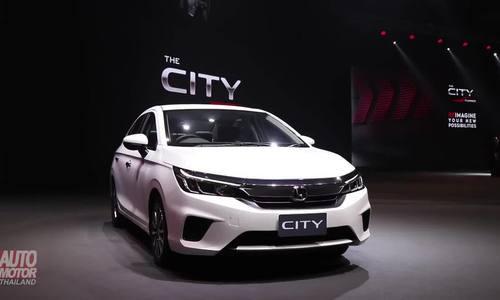 Honda City 2020 - nỗ lực lật đổ Toyota Vios