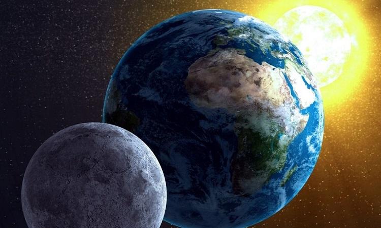 Mặt Trăng ra đời như thế nào?