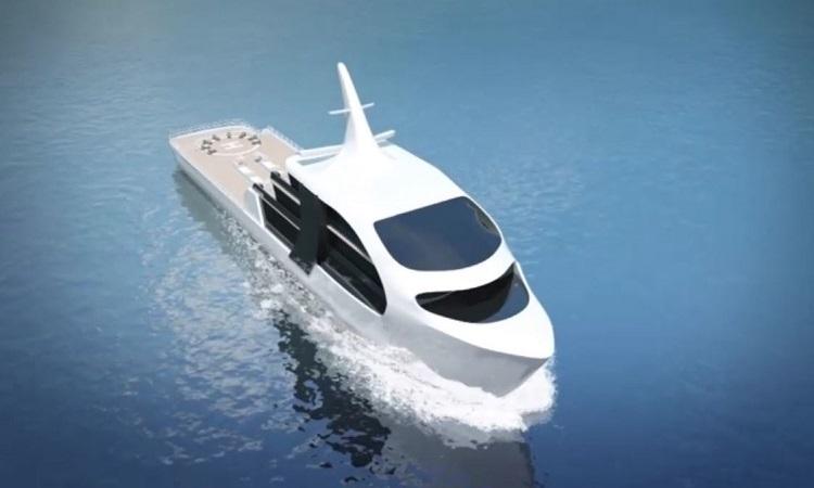 Thiết kế du thuyền hình cá voi sát thủ