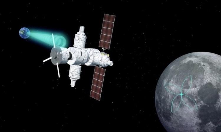 NASA dự định lắp mạng lưới ăng-ten ở vùng tối Mặt Trăng