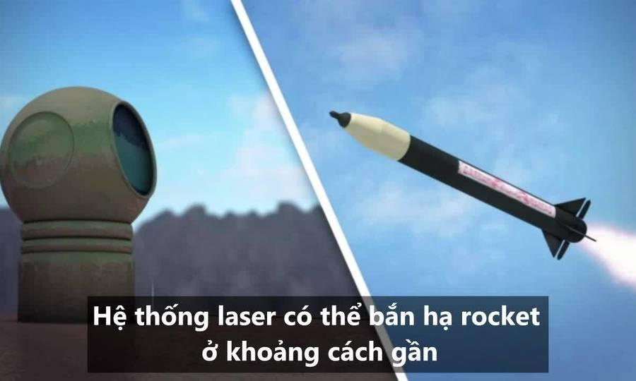 Vũ khí laser giúp Israel đối phó rocket