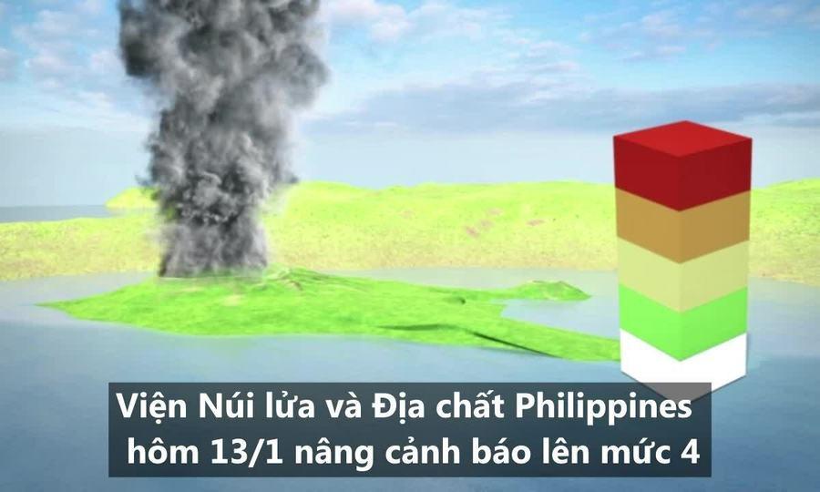 Núi lửa khiến gần một triệu người sơ tán