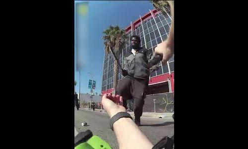 Cảnh sát Mỹ tiêu diệt tên cướp - ảnh 1