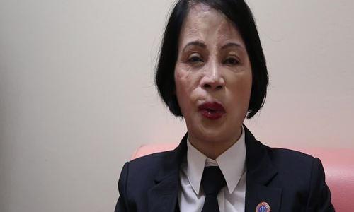 Nữ thẩm phán bị tạt axit và hành trình trở lại