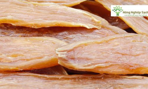 Sản xuất khoai dẻo Quảng Bình
