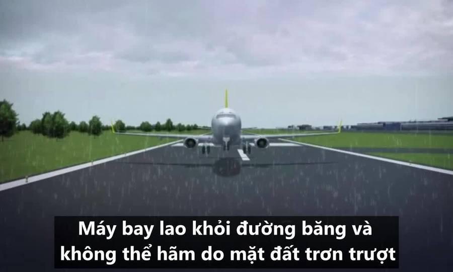 Nguyên nhân khiến máy bay Thổ Nhĩ Kỳ vỡ làm ba