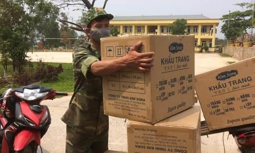 Chặn 95 nghìn khẩu trang y tế xuất lậu sang Lào