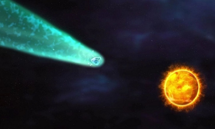 Sao chổi có thể sáng rực như Mặt Trăng